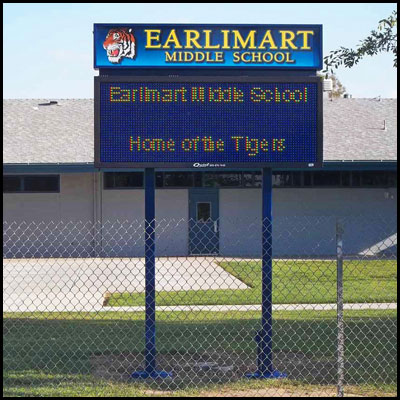 earlimart_middle_school_pole_sign