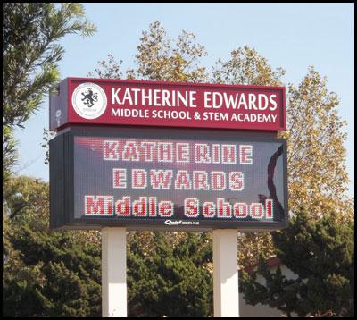 katherine_edwards_middle_school_pole_sign
