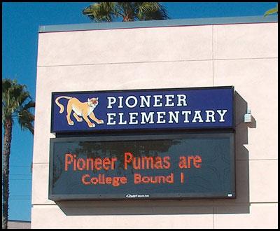 pioneer_elementary_school_wall_sign