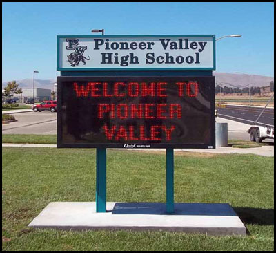 pioneer_valley_high_school_pole_sign