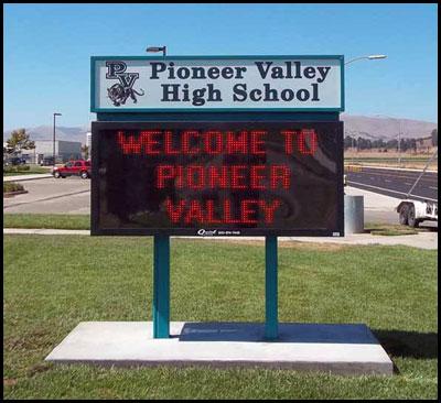 pioneer_valley_high_school_pole_sign